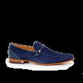 Мъжки обувки естествен набук и кожа - 1t