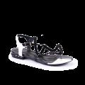Дамски сандали естествен велур и лак - 1t
