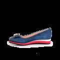 Дамски обувки естествен велур - 2t
