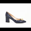 Дамски обувки от естествен лак - 3t