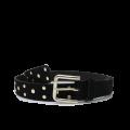 Дамски колан от еко велур в черен цвят LD-3171 - 1t