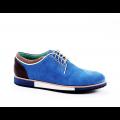 Мъжки ежедневни обувки от естествен велур - 1t
