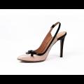 Дамски обувки от естествен лак  - 2t