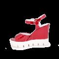 Дамски сандали от естествен лак - 2t
