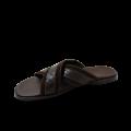 Мъжки чехли от естествен велур - 2t