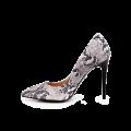 Дамски елегантни обувки от естествена кожа - 2t