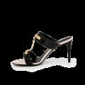 Дамски обувки от естесвен лак - 2t