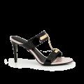 Дамски обувки от естесвен лак - 1t