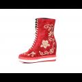 Дамски спортни обувки естествен велур - 2t