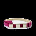 Дамски колан от естествен велур в розов цвят LD-4630 - 1t