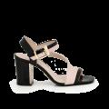 Дамски сандали от естествена кожа  - 1t