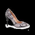 Дамски елегантни обувки от естествена кожа - 1t