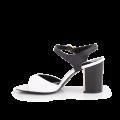 Дамски сандали естествен лак  - 2t