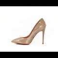 Дамски елегантни обувки от естествен лак - 2t