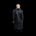 Дамско кожено палто от естествена кожа - 2t