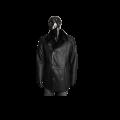 Мъжко яке от естествена кожа  K-502 Черен - 1t
