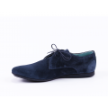 Мъжки ежедневни обувки от естествен велур - 2t