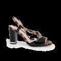 Дамски сандали от естествен лак - 1t