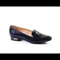 Дамски обувки естествена синя кожа - 1t
