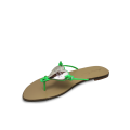 Дамски чехли естествена кожа - 2t