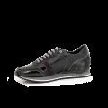Мъжки спортни обувки естествена кожа в черно и сиво MRS-11475 - 2t
