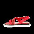 Дамски сандали от естествена кожа в червен цвят Т1-351-06-3 - 2t