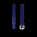 Дамски колан от еко велур в син цвят LD-3171 - 2t