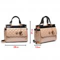 Дамска чанта от еко лак YZ-4556 - 5t