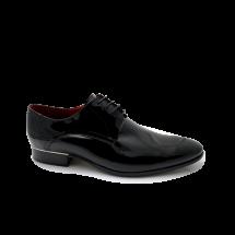 Мъжки официални обувки от естествен лак CP-3539