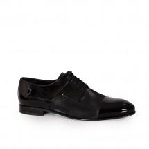 Мъжки официални обувки от естествен лак BRC-80250