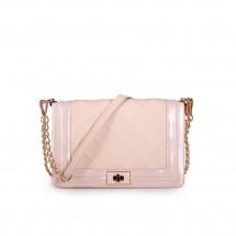 Дамска чанта от еко кожа и лак YZ-450209/1