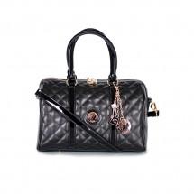 Дамска чанта от естествена  кожа и лак YZ-310412
