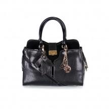 Дамска чанта от естествен лак и кожа YZ-500088