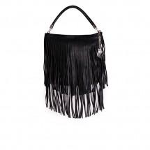 Дамска чанта от еко кожа и велур YZ-530004