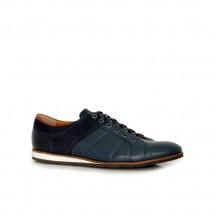 Мъжки спортни обувки от естествена кожа и набук CP-1565