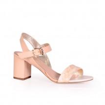 Дамски сандали от естествена кожа CP-2967