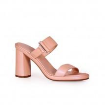 Дамски чехли от естествена кожа CP-3341