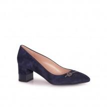 Дамски обувки от естествен велур CP-3435