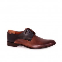 Мъжки официални обувки от естествена кожа CP-6673