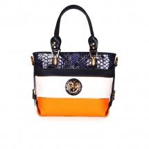 Дамска чанта от естествена и еко кожа CV-1030105