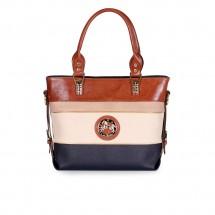 Дамска чанта от естествена и еко кожа CV-1150105