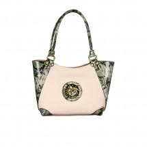 Дамска чанта от еко и естествена кожа CV-1100075