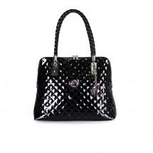 Дамска чанта от еко лак капитоне YZ-50601