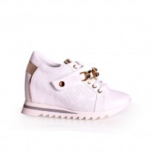Дамски спортни обувки от естествена кожа ILV-0561