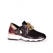 Дамски спортни обувки от естествена кожа ILV-1013