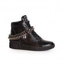 Дамски спортни обувки естествена кожа ILV-1067