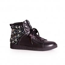 Дамски спортни обувки естествена кожа ILV-1107