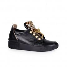Дамски спортни обувки от естествена кожа ILV-1153