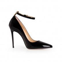 Дамски обувки от естествен лак ILV-1270