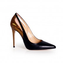 Дамски обувки от естествена кожа ILV-1337